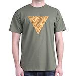 Sunny Triangle Knot Dark T-Shirt