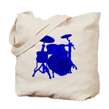 Blue Drums Tote Bag