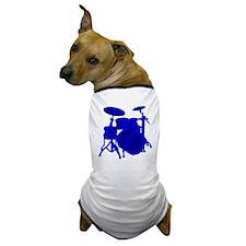 Blue Drums Dog T-Shirt