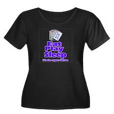 Women's poker T