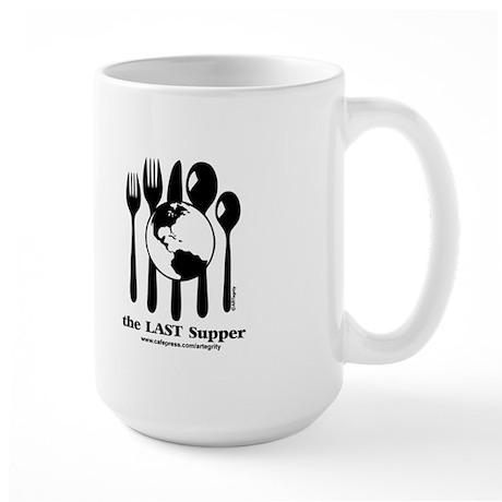 Last Supper Teaparty Large Mug