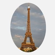 Eiffel Tower Oval Ornament