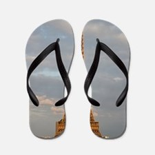 Eiffel Tower Flip Flops