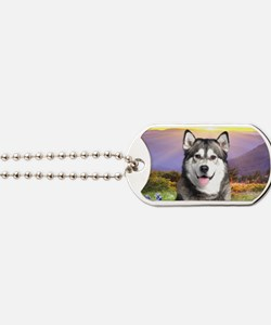 meadow(oval) Dog Tags