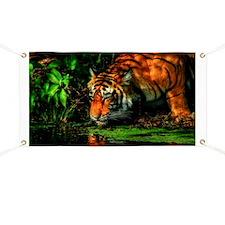 Tiger Reflection Banner