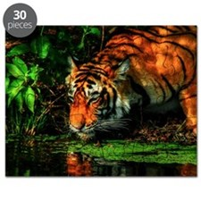 Tiger Reflection Puzzle