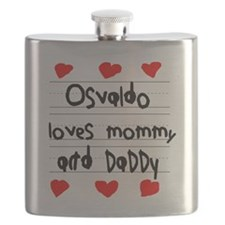 Osvaldo Loves Mommy and Daddy Flask