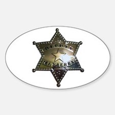 Mayberry Deputy Badge Decal