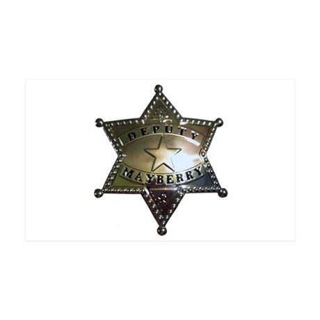 Mayberry Deputy Badge Wall Decal