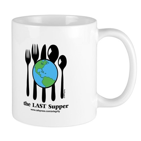 Last Supper Teaparty (color) Mug