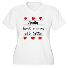 Nadia Loves Mommy T-Shirt