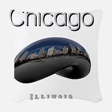 Chicago_10x10_Bean Woven Throw Pillow