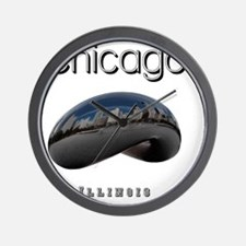 Chicago_10x10_Bean Wall Clock