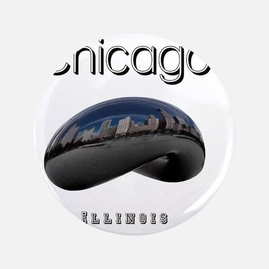 "Chicago_10x10_Bean 3.5"" Button"