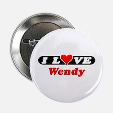 I Love Wendy Button