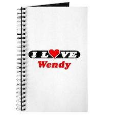 I Love Wendy Journal