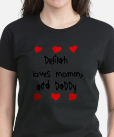 Delilah Loves Mommy and Daddy Tee