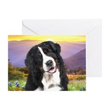 meadow(oval) Greeting Card