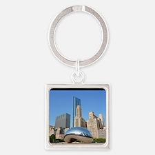 Chicago_5.5x8.5_Journal_Bean Square Keychain