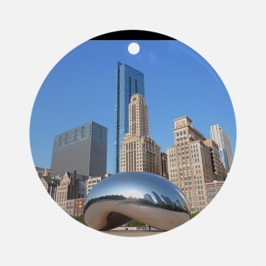 Chicago_5.5x8.5_Journal_Bean Round Ornament