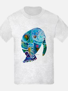 Manatees Endangered Species T-Shirt