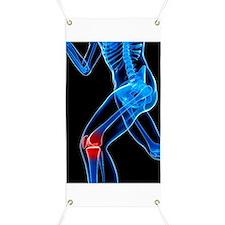 Knee pain, conceptual artwork Banner