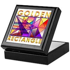 Golden Rectangle Keepsake Box