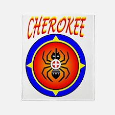 CHEROKEE WATER SPIDER Throw Blanket