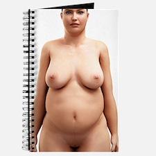 Obese woman, artwork Journal