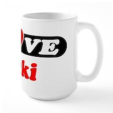 I Love Vicki Mug