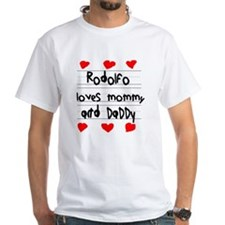 Rodolfo Loves Mommy and Daddy Shirt