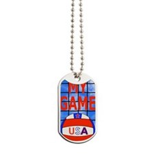 Volleyball My Game Dog Tags