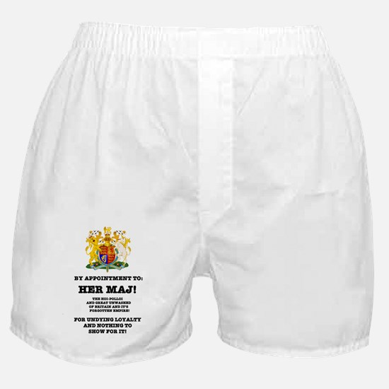 BY APPOINTMENT - PARODY, HER MAJ! Boxer Shorts