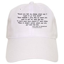 """""""Which way"""" Quote - Baseball Cap"""