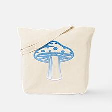 Light Blue Shroomz Tote Bag