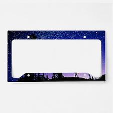 Meteor License Plate Holder