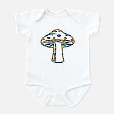 Mellow Colorz Shroomz Infant Bodysuit
