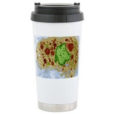 Macrophage cell, TEM Travel Coffee Mug