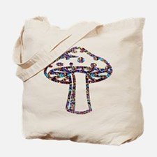 Psychedelic Majik Mushroomz Tote Bag