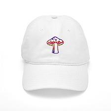 Rainbow Color Mushroom Baseball Cap