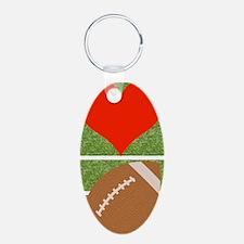 Love Football Keychains