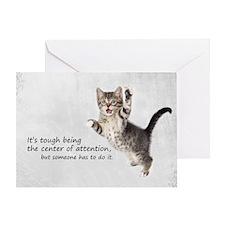 Kitten Bag Greeting Card