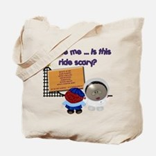 Scary Ride Tote Bag