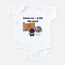 Scary Ride Infant Bodysuit