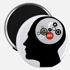 AFC/HUB Gearhead Logo Magnet