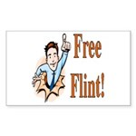 Free Flint Rectangle Sticker