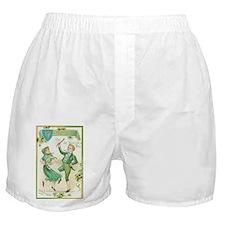 Cute Irish dancing Boxer Shorts