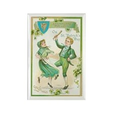 St Patric Dance Rectangle Magnet