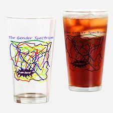 The Gender Spectrum Drinking Glass