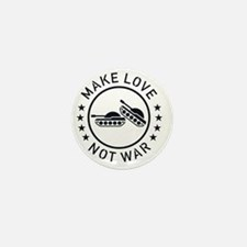 Make Love Not War (1C) Mini Button
